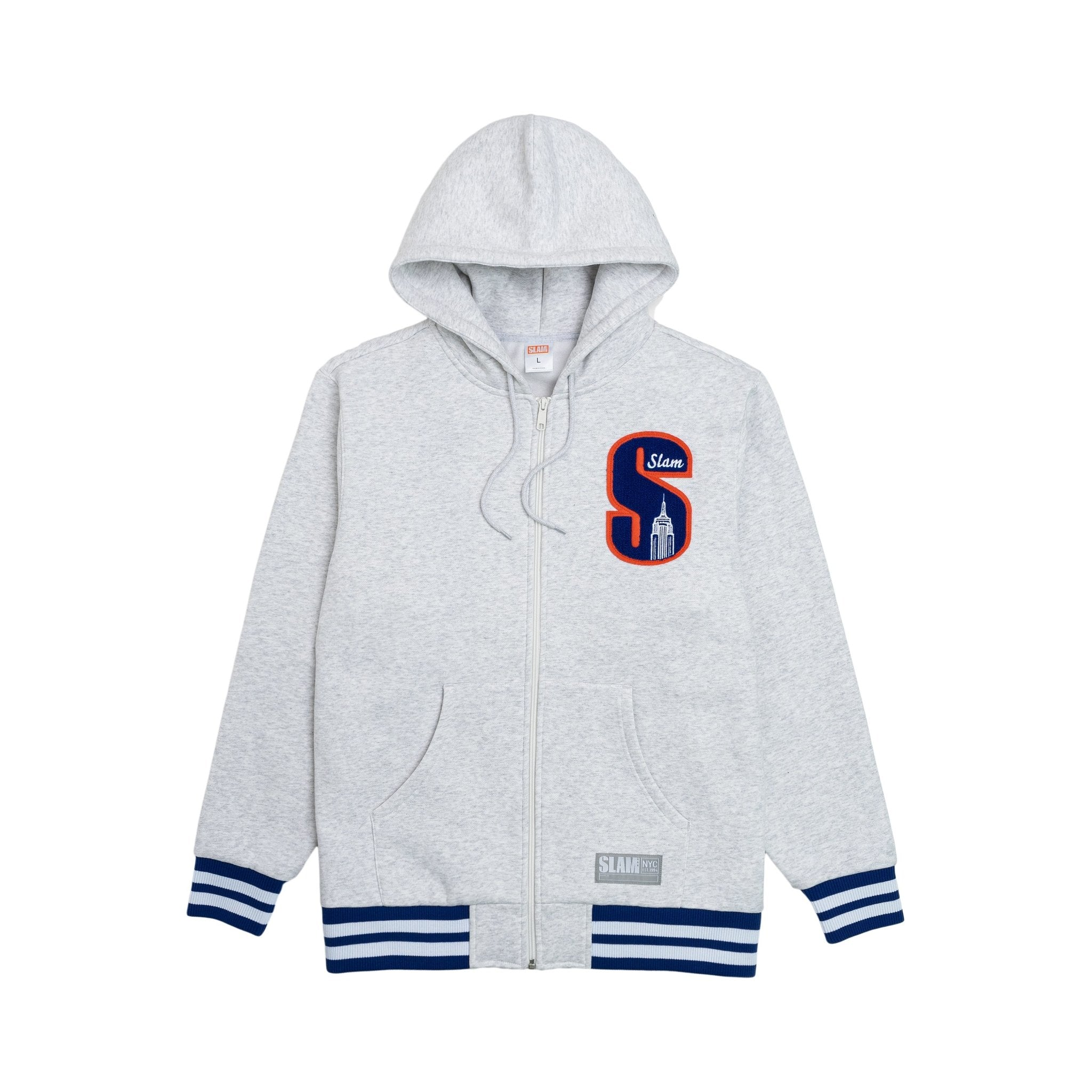 SLAM Empire Zip Up Hoodie - SLAM