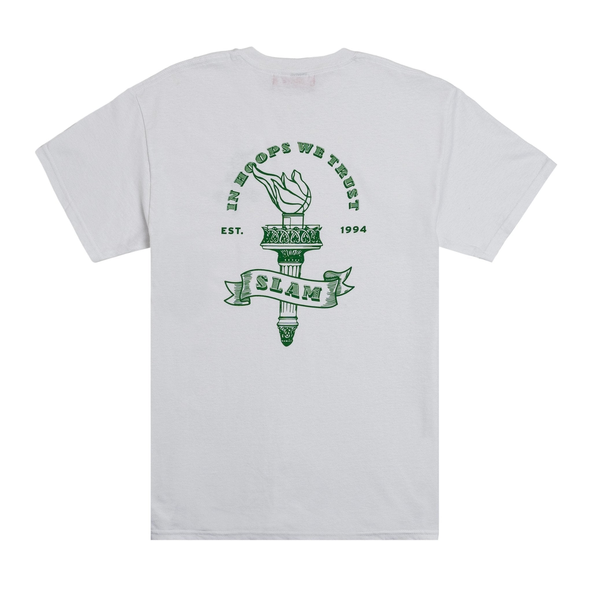 SLAM In Hoops We Trust Tee - SLAM