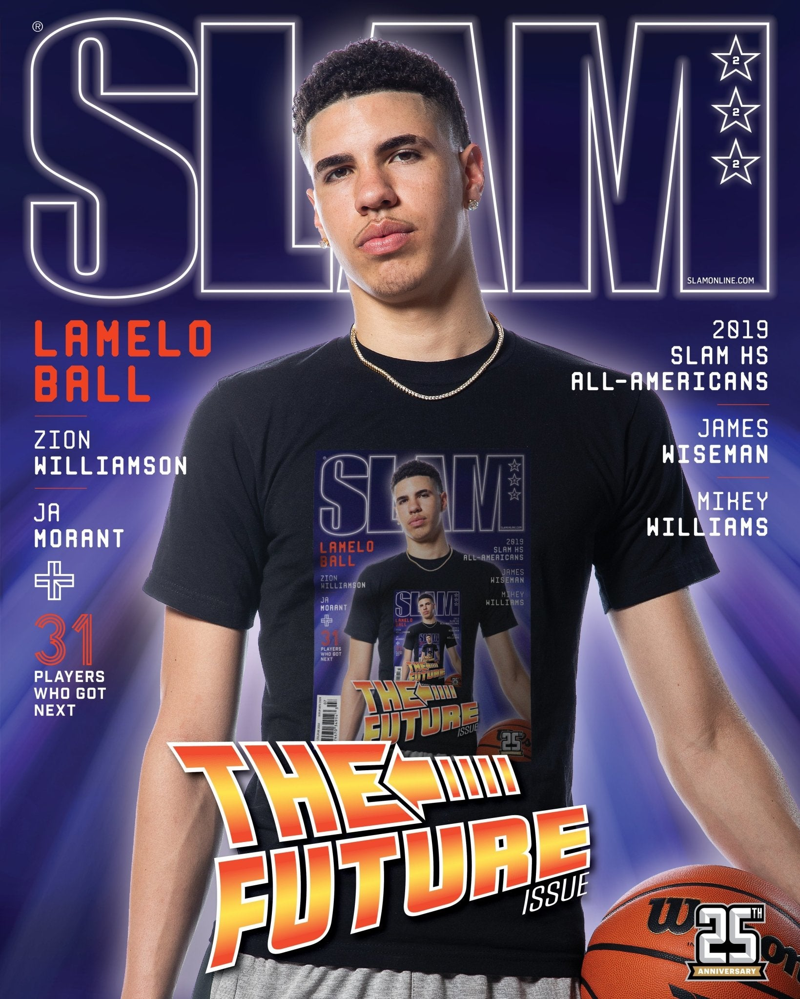 SLAM July/August 2019 (LaMelo Ball-222) - SLAM
