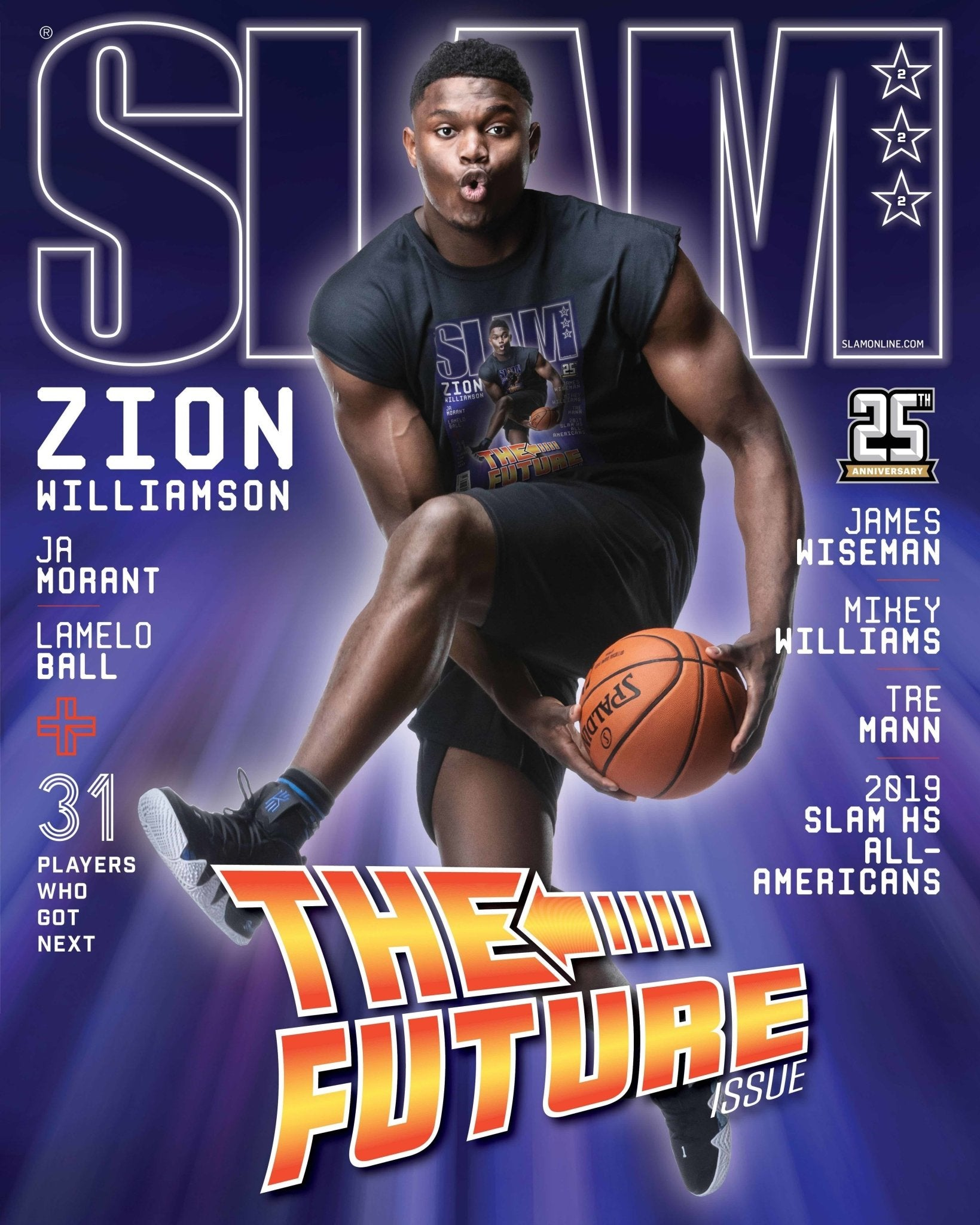 SLAM July/August 2019 (Zion Williamson-222) - SLAM