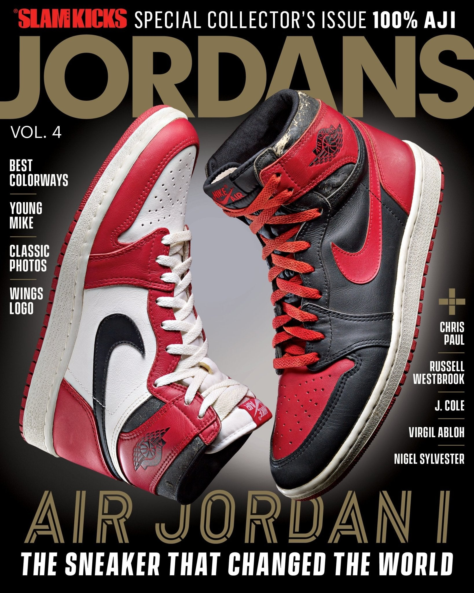 SLAM Kicks: Jordans Vol. 4 - Air Jordan 1 - SLAM