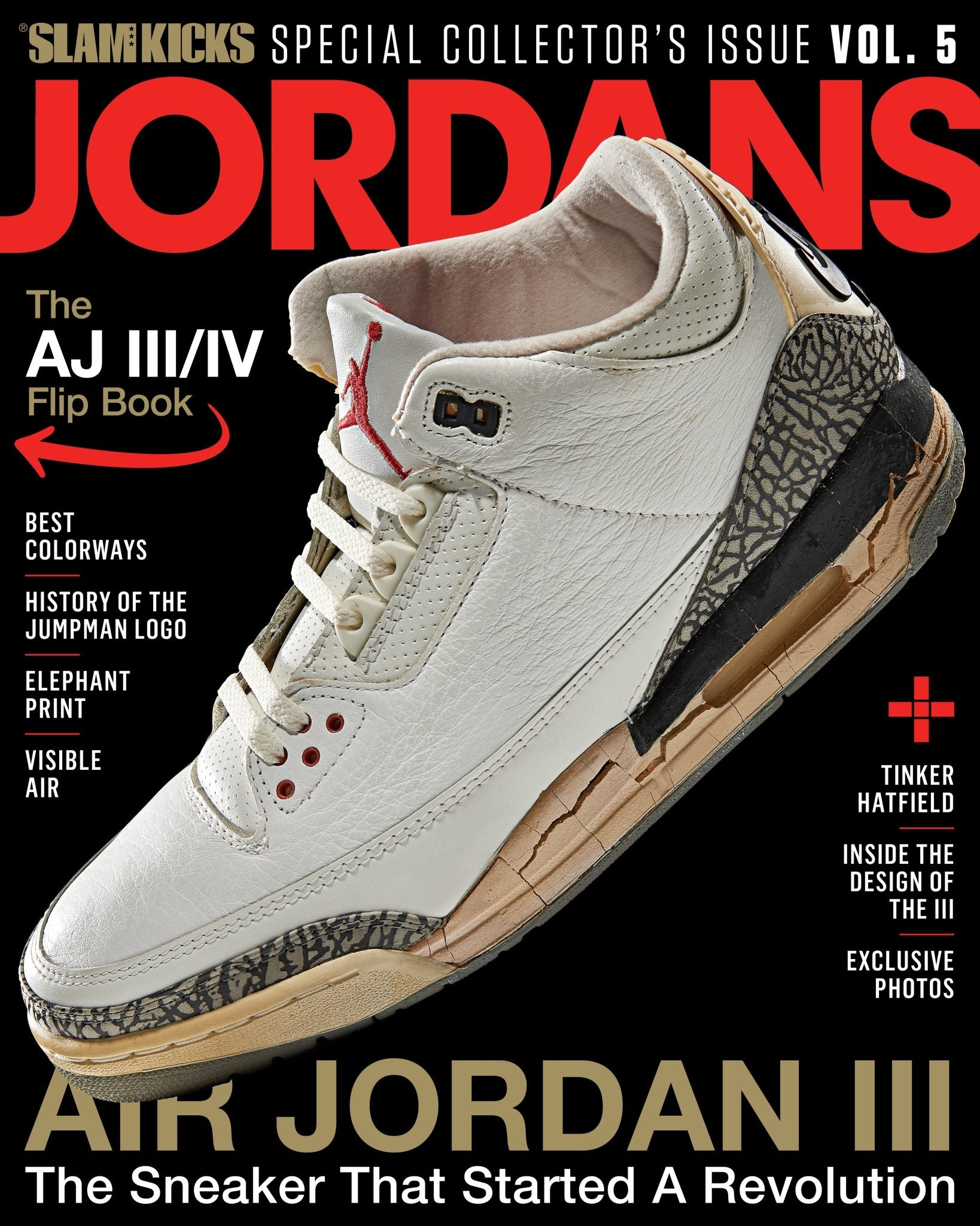 SLAM Kicks: Jordans Vol. 5 - SLAM