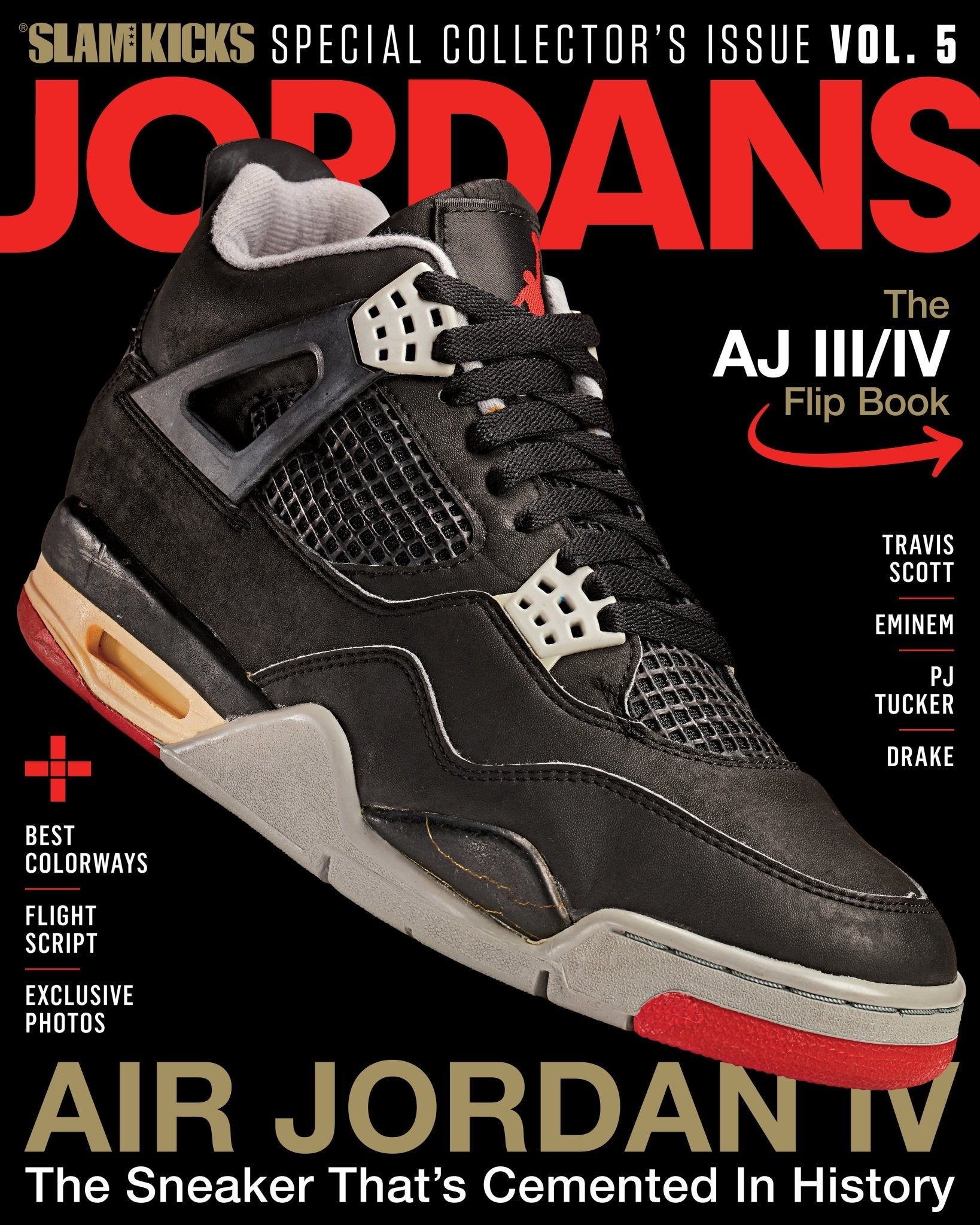 SLAM Kicks: Jordans Vol 6 Breds & Jordans Vol 5 (Bundle) - SLAM