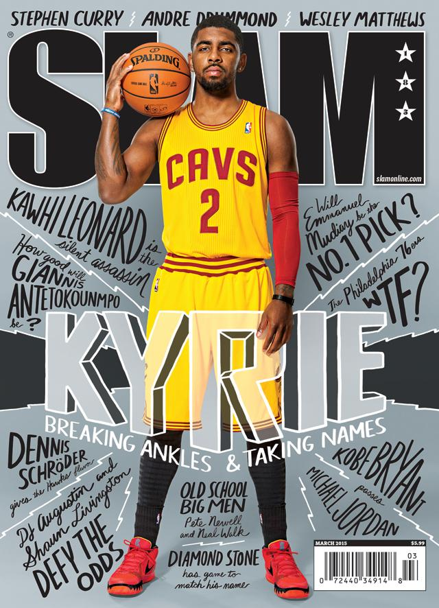 SLAM March 2015 (Kyrie Irving-185) - SLAM