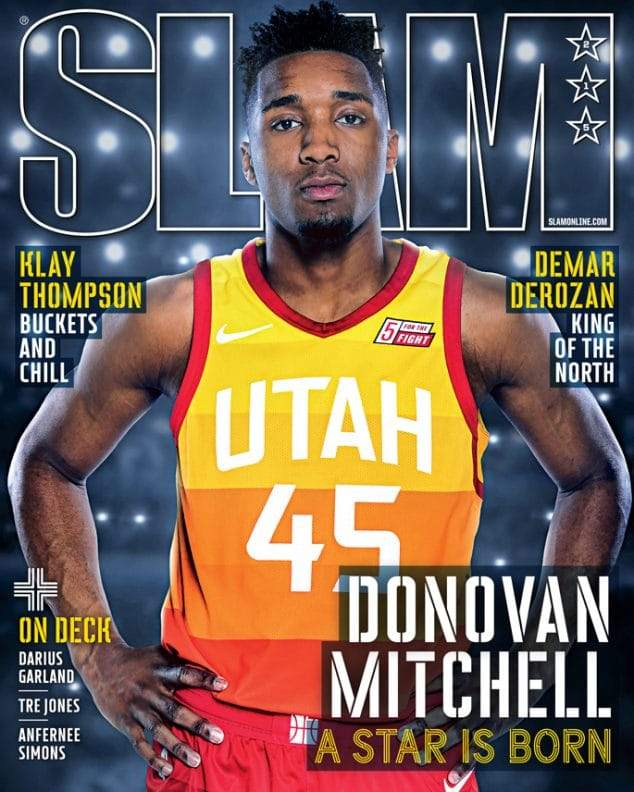 SLAM May/June 2018 (Donovan Mitchell-215) - SLAM