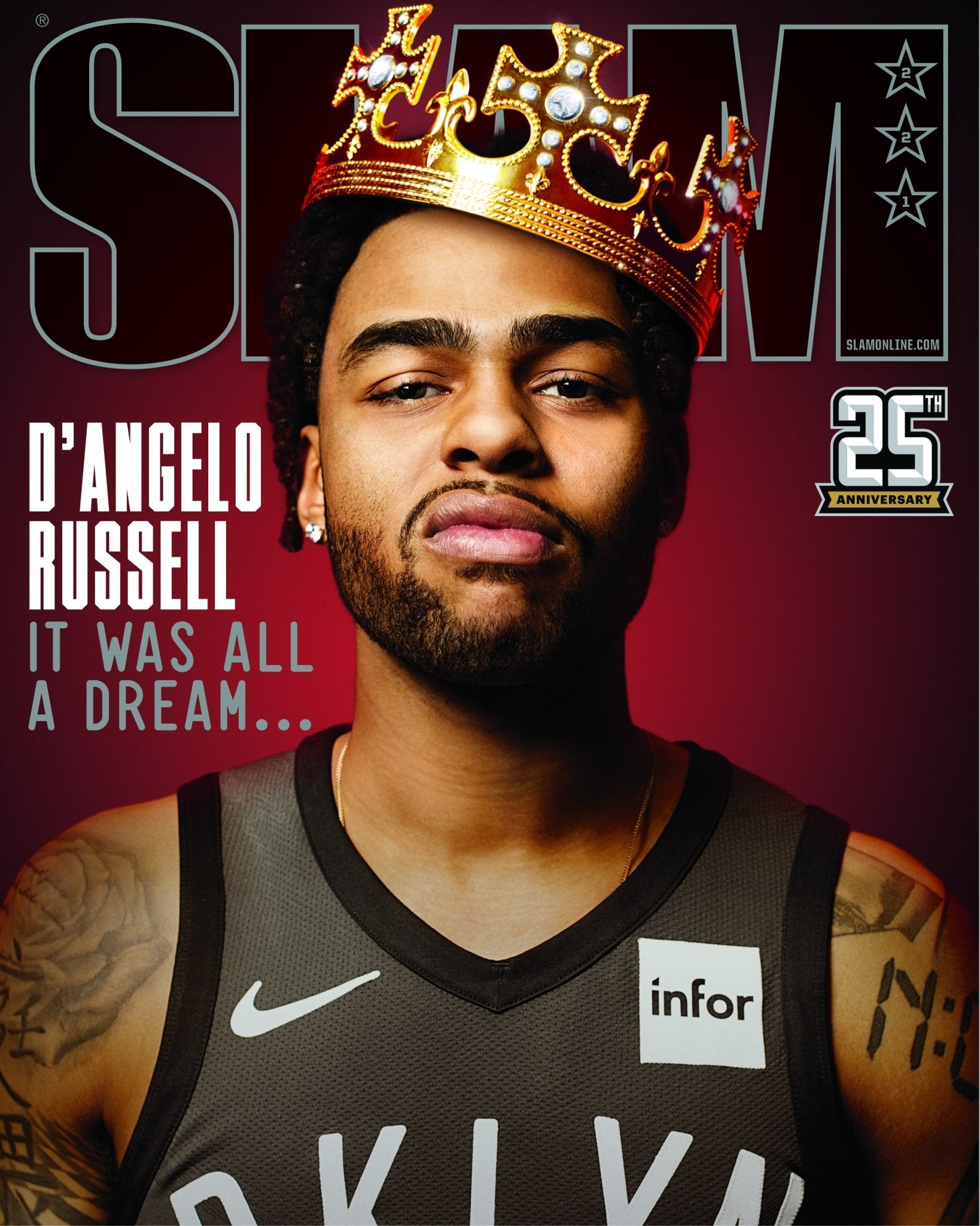 SLAM May/June 2019 (D'Angelo Russell-221) - SLAM