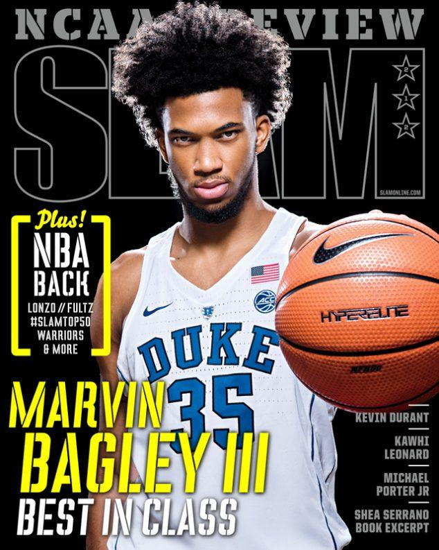 SLAM November/December 2017 (Marvin Bagley III-212) - SLAM