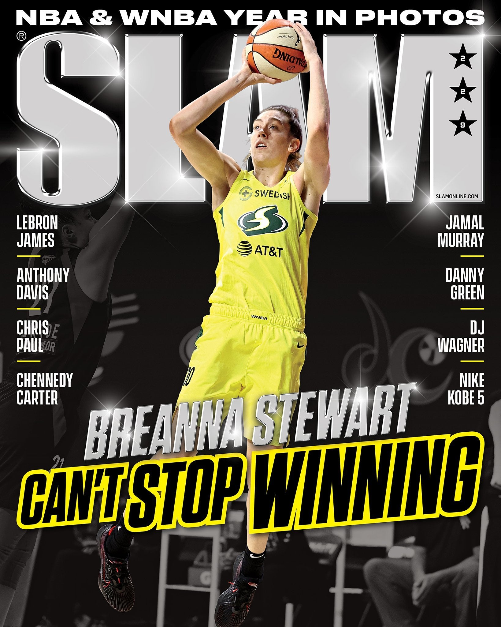 SLAM November/December 2020 (Breanna Stewart- 229) - SLAM