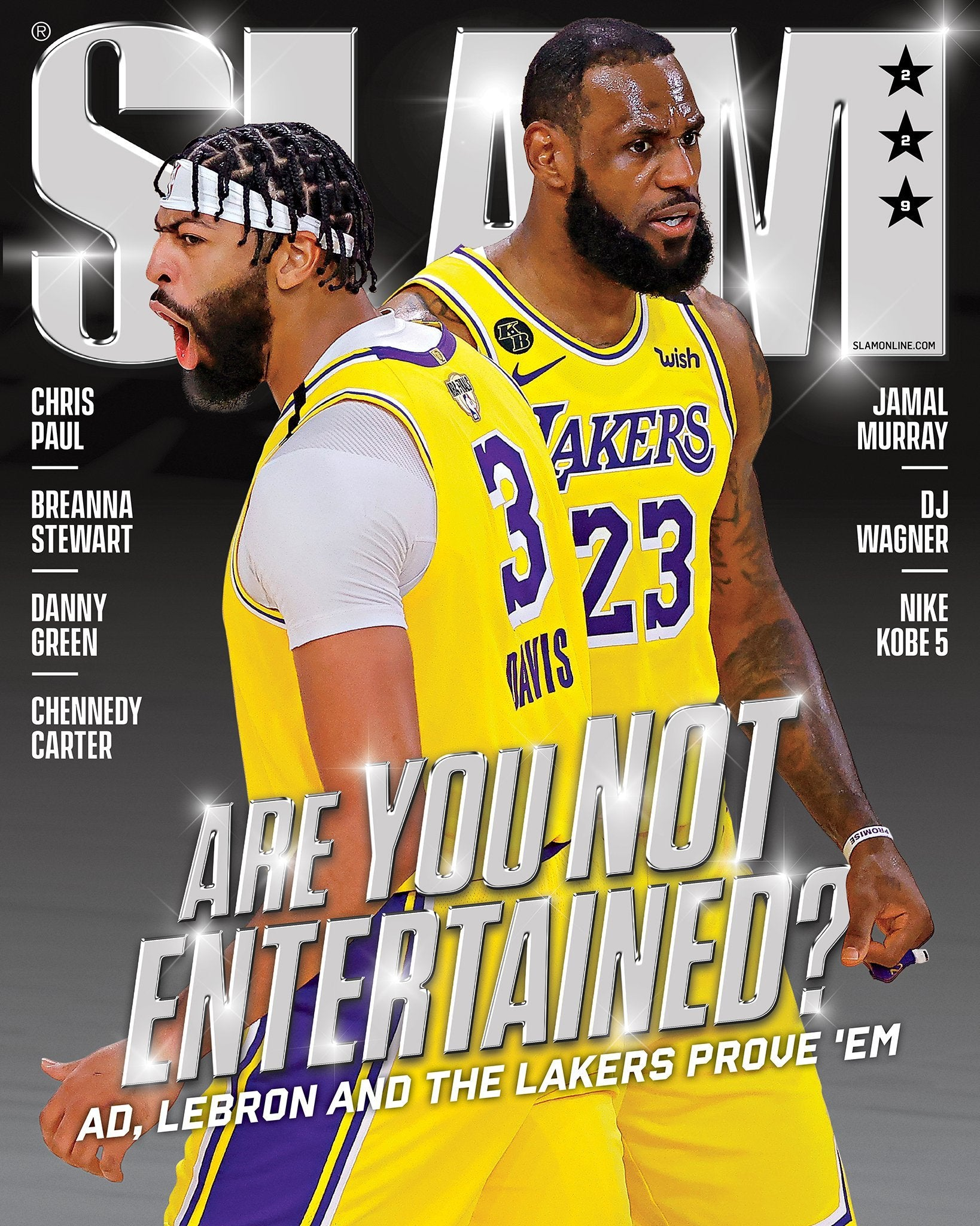 SLAM November/December 2020 (Lebron/AD- 229) - SLAM