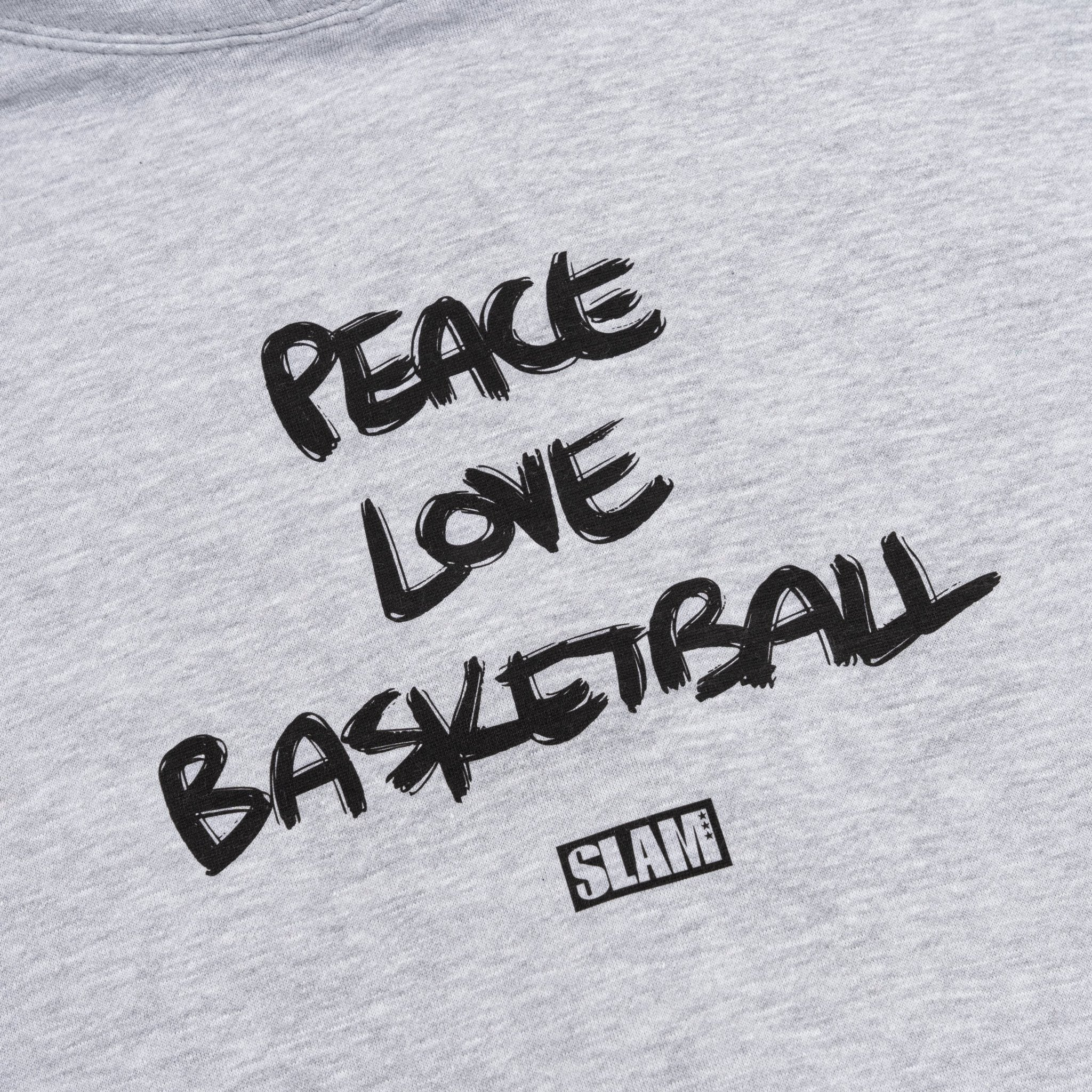 SLAM Peace, Love, and Ball Hoodie - SLAM