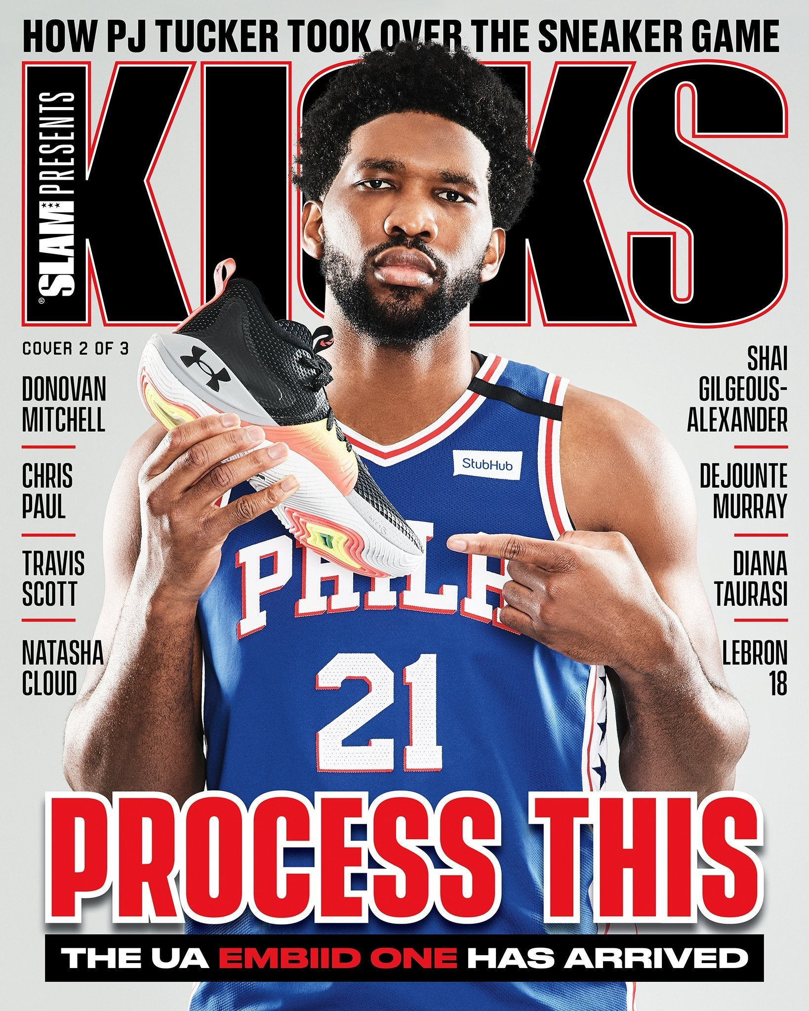 SLAM Presents KICKS Vol. 23 (Joel Embiid-23)(Pre-Sale) - SLAM