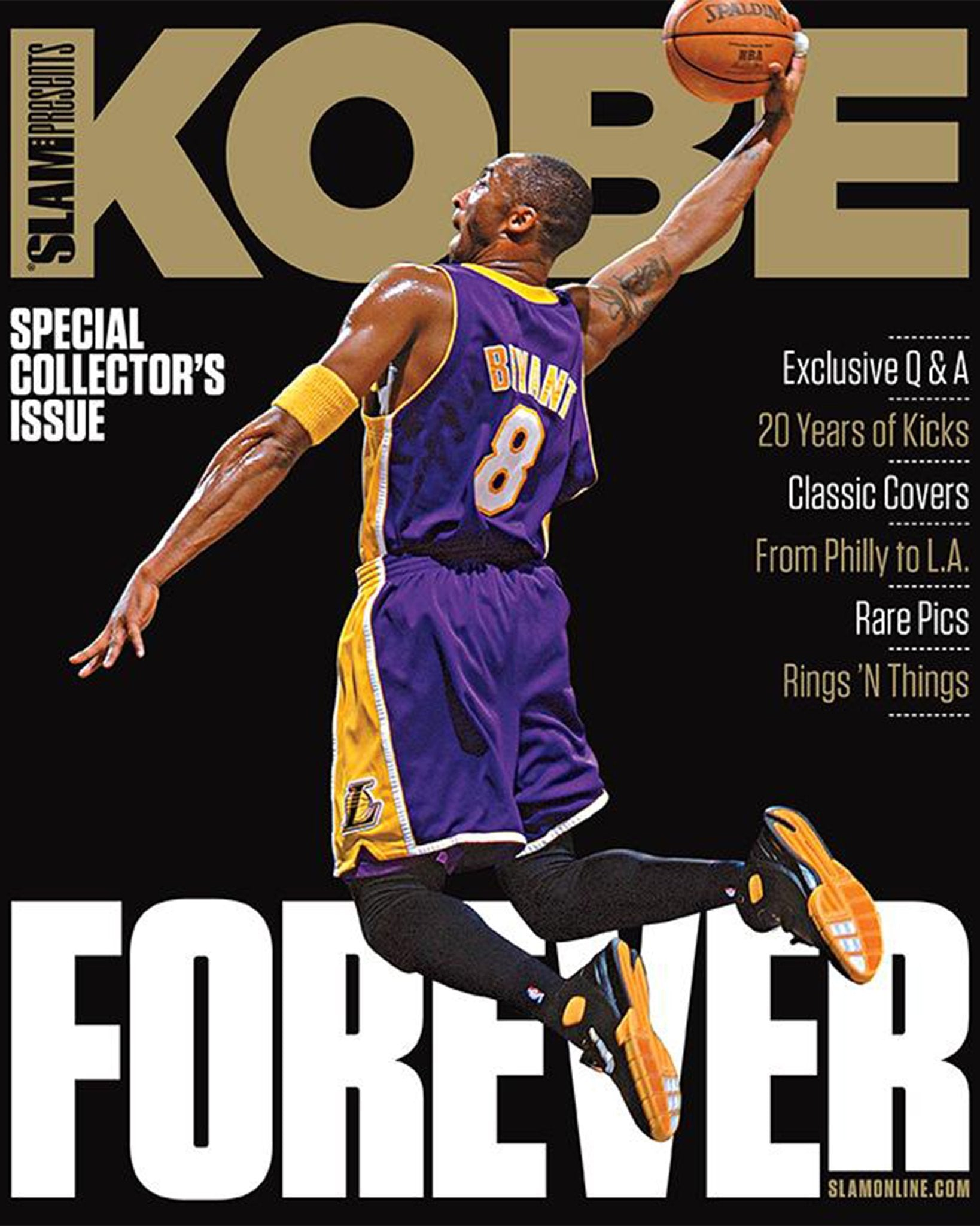 SLAM Presents Kobe: Retirement Issue - SLAM