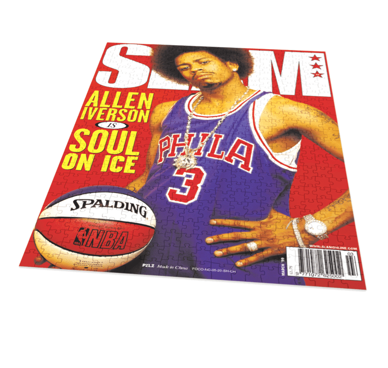 SLAM Puzzle - Allen Iverson - Soul on Ice - SLAM