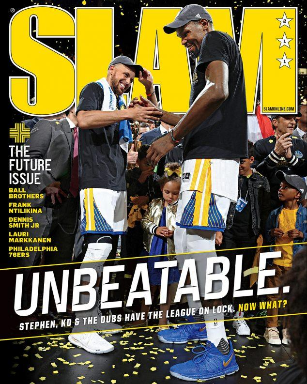 SLAM September 2017 (KD & Steph-211) - SLAM