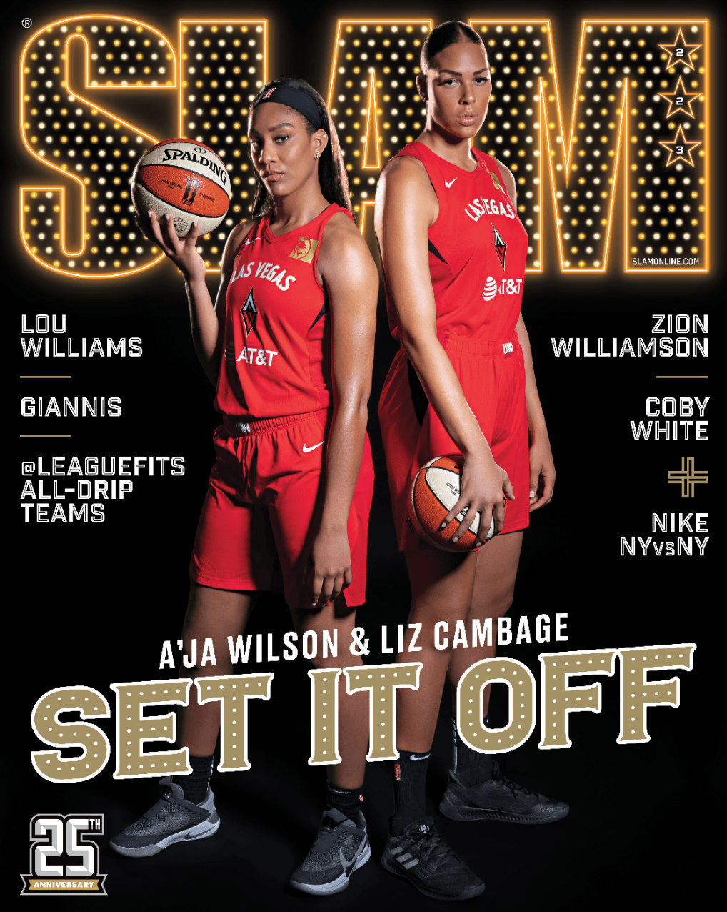 SLAM September/October 2019 (A'ja & Liz-223) - SLAM