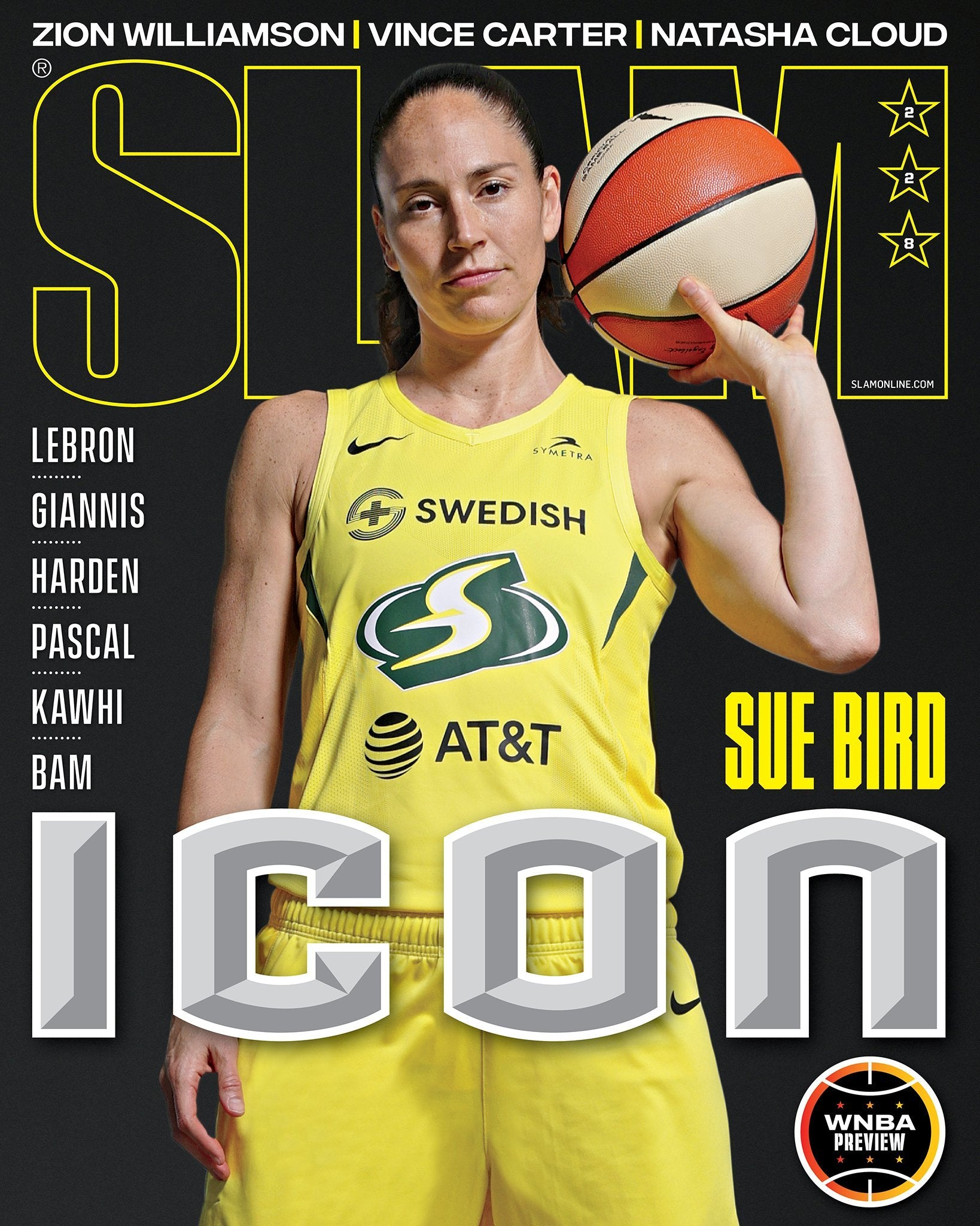 SLAM September/October 2020 (Sue Bird-228) - SLAM