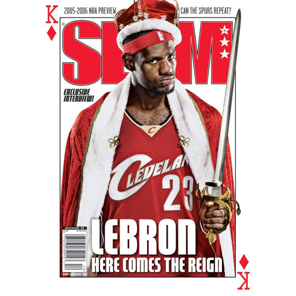 SLAM x Fathead: LeBron James - SLAM