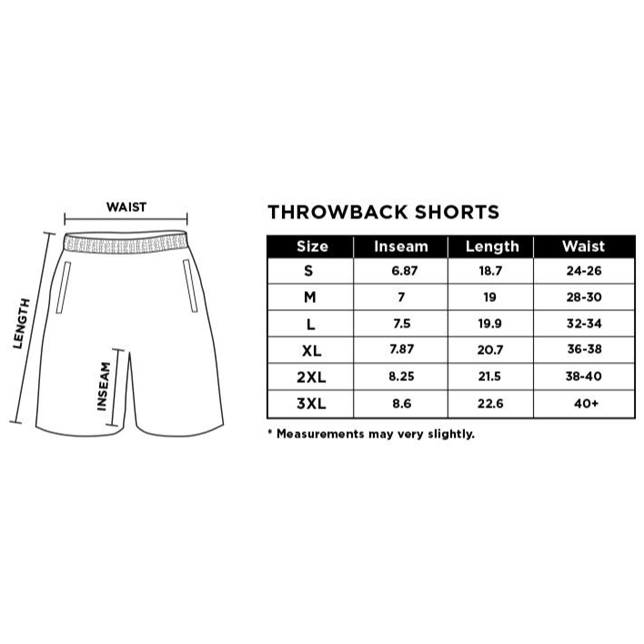 Wake Forest Demon Deacons 1996-1997 Retro Shorts - SLAM