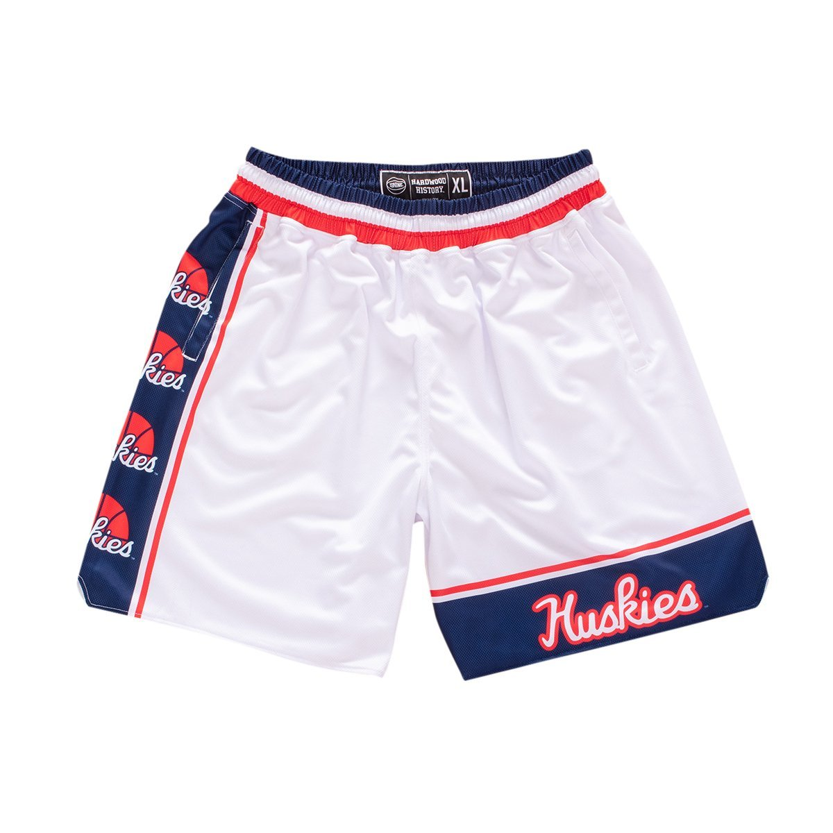 Women's UConn Huskies 1994-1995 Retro Shorts - SLAM