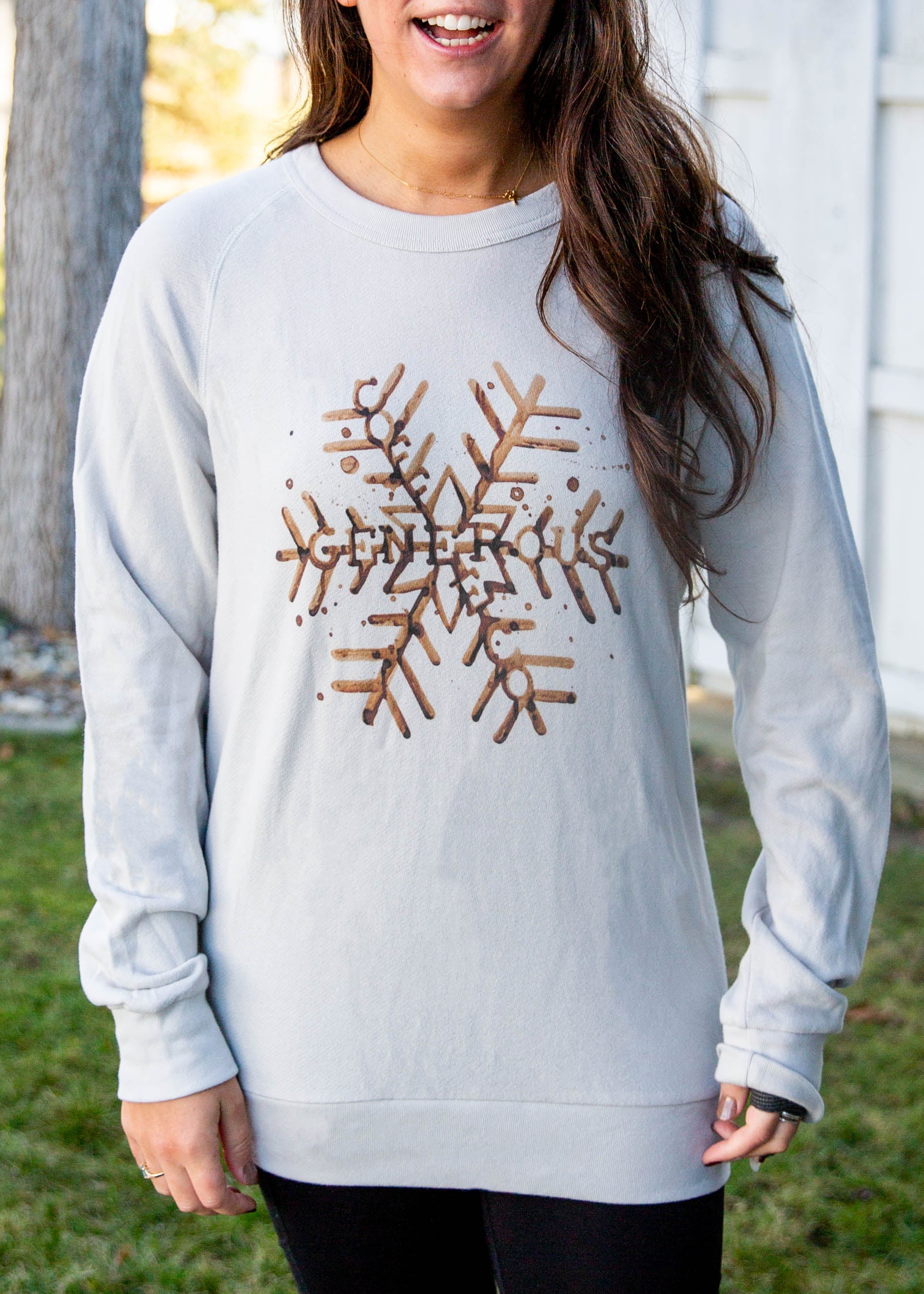 Snowflake Coffee Color