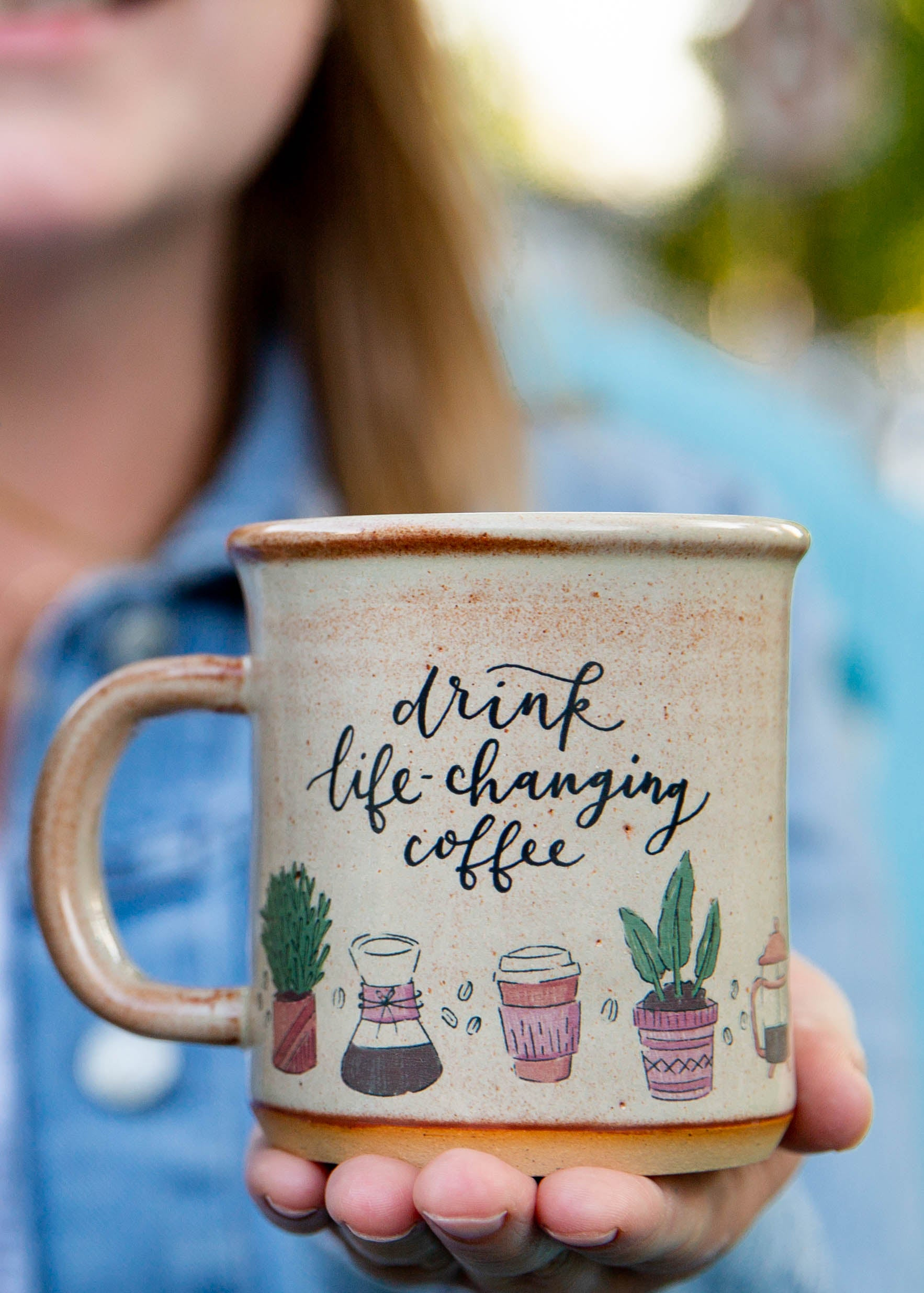 Life-Changing Coffee Plant Mug