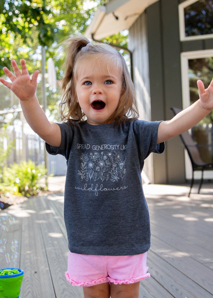 Kids Wildflower Tee