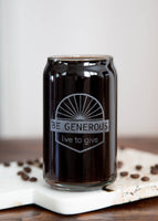 Coffee Beer Can Glass