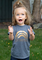 Kids Rainbow Coffee Tee
