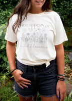 Wildflower Natural Tee