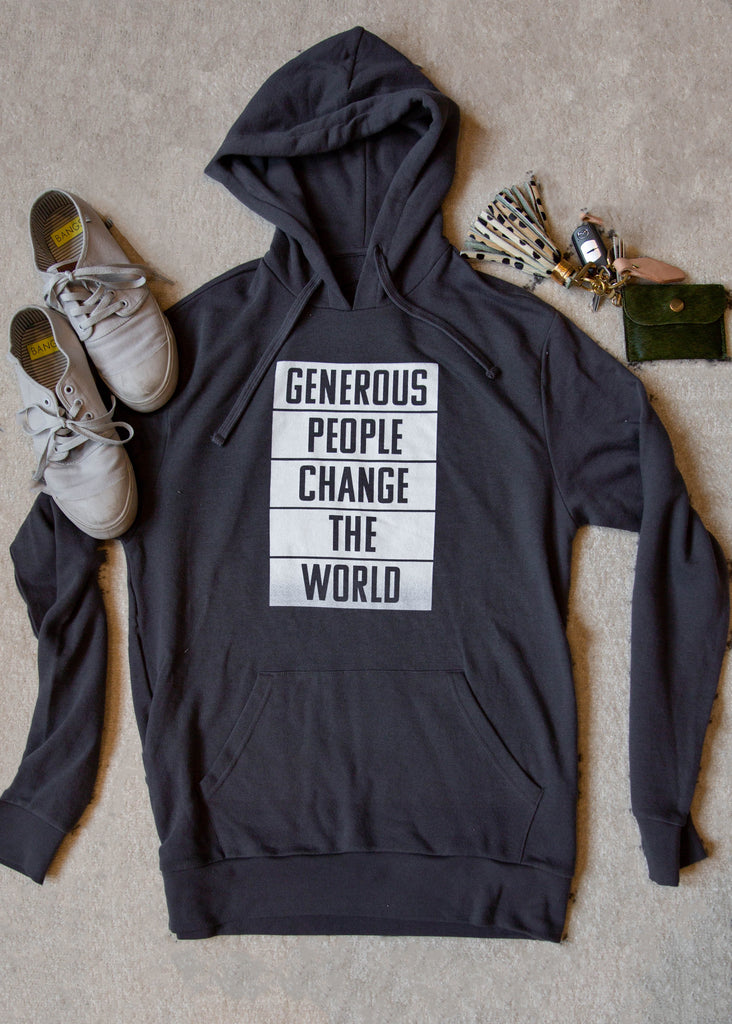 World Changer Gray Pullover Hoodie