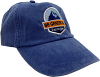 Be Generous - Dad Hat - Washed Royal