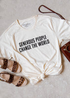 World Changer Natural Tee