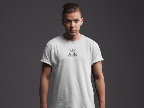AJK Crown Rolled Sleeve T-Shirt