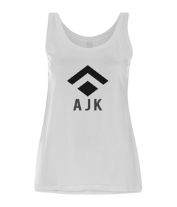 Ladies White Tank Dress