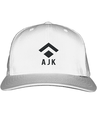 AJK Trucker Cap White
