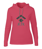 Ladies Long Sleeve Hooded T-Shirt