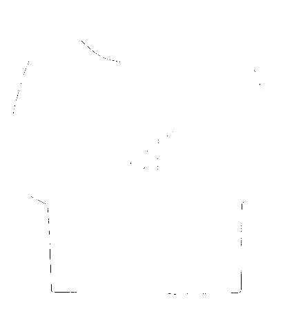 Ladies Black Boxy T-Shirt