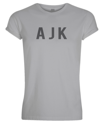 AJK Chest Rolled Sleeve T-Shirt