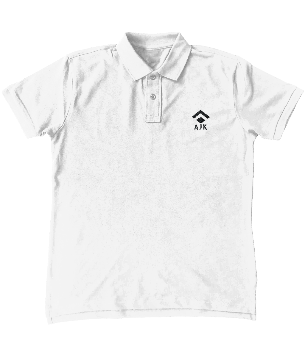 AJK Polo Shirt White