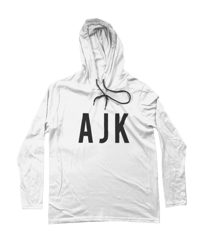 AJK Long Sleeve Hooded T-Shirt
