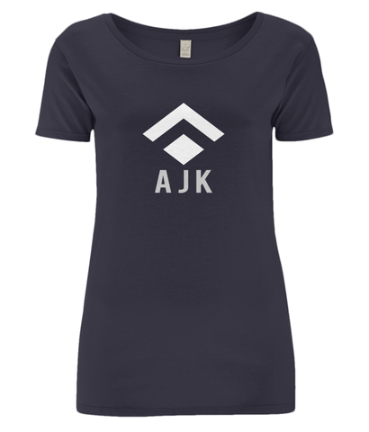 Ladies Open Neck T-Shirt