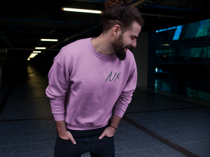 AJK Embroidered Sweatshirt