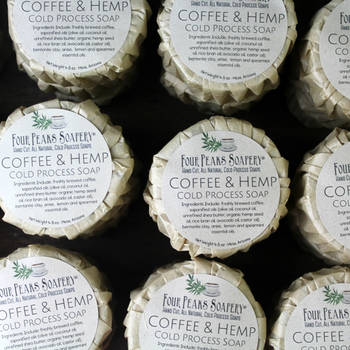 Coffee & Hemp Cold Process Soap