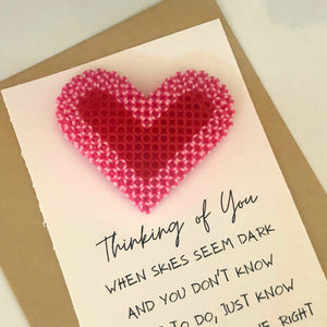Thinking of You Poem Card