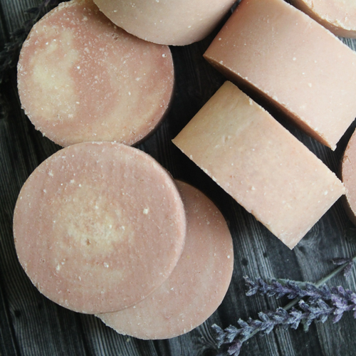 Lavender Orange Salt Soap