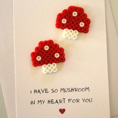 I Have So MUSH-room in my Heart for You Card