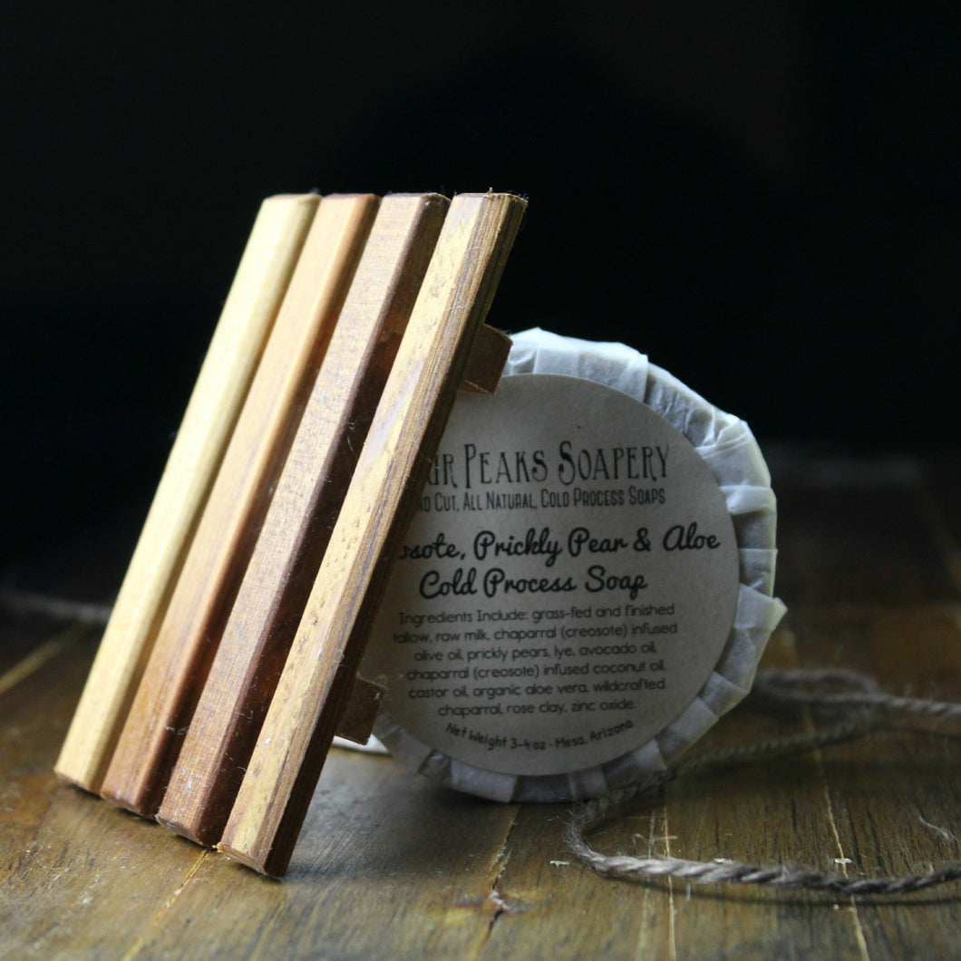 Spanish Cedar Soap Dish