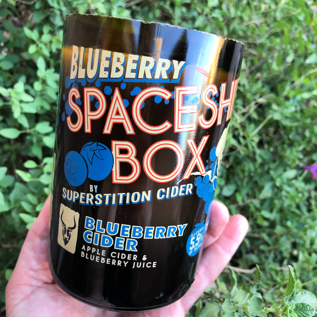 Superstition Cider Blueberry Cheesecake Candle