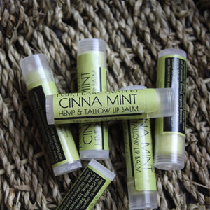 Cinna-Mint Tallow & Hemp Lip Balm