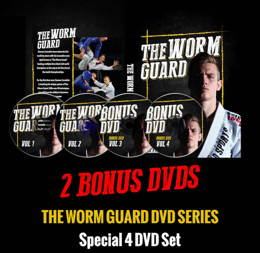 Collector's item: The Ultimate Worm Guard 4 DVD set
